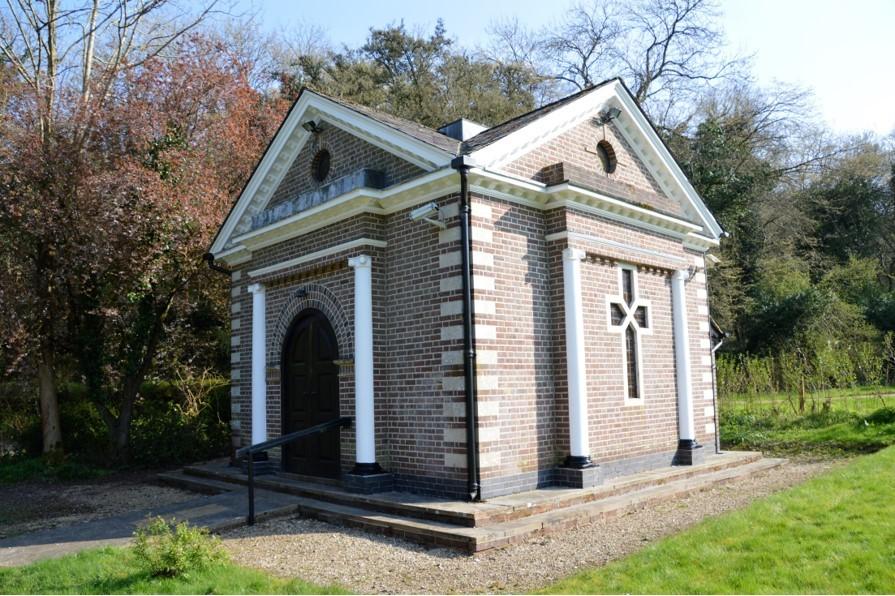 Exterior Chapel Sept 17