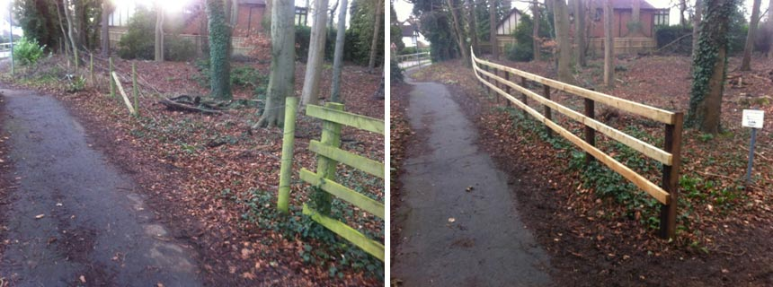 Tenterden Spinney, Chesham Bois - improvements