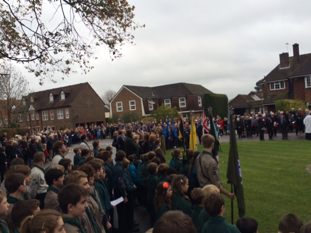 Chesham Bois Remebrance Parade