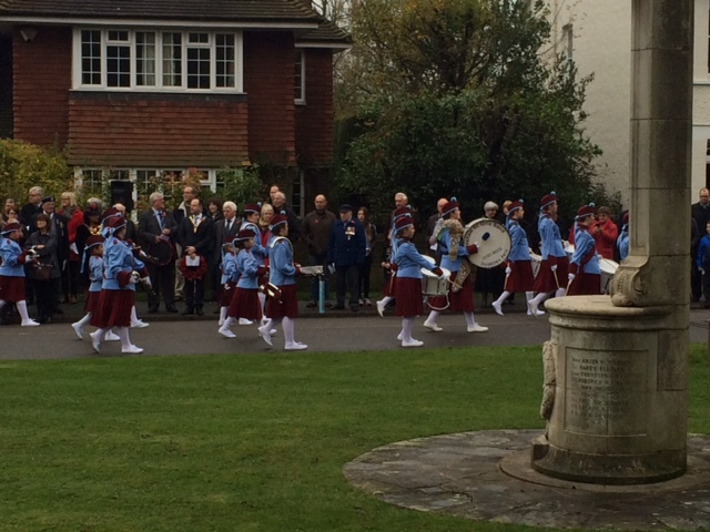 Chesham Bois Remembrance Parade
