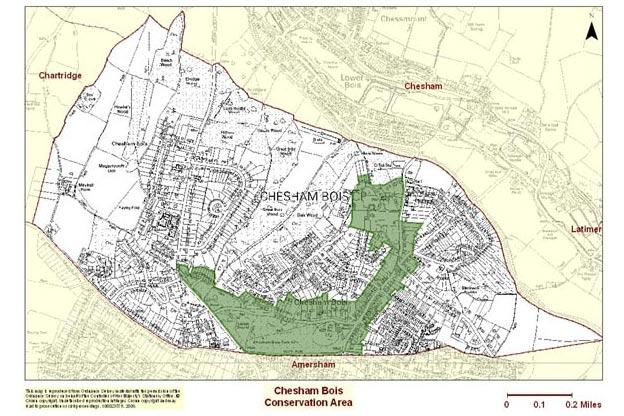 Chesham Bois conservation area