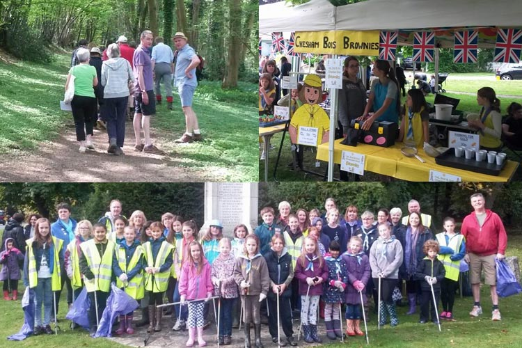 activities organised by Chesham Bois Parish Council