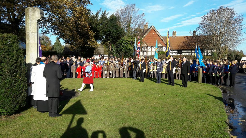 Chesham Bois Remembrance 2016