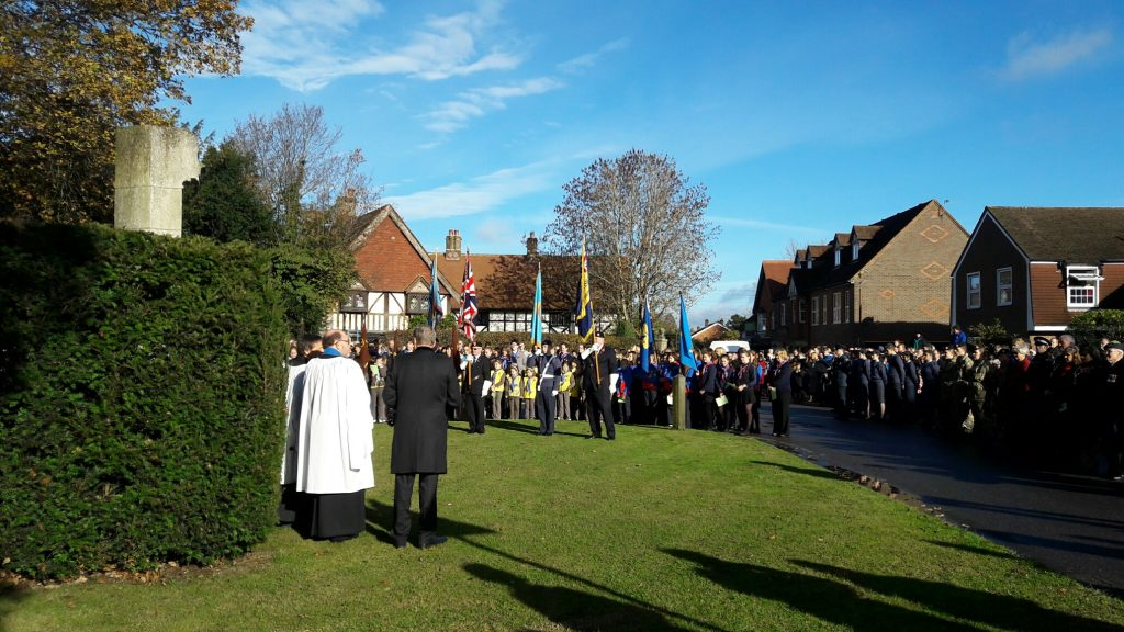 Chesham Bois Remembrance Parade 2016