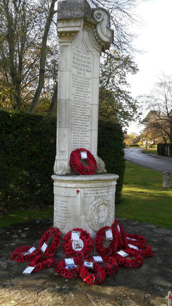 Chesham Bois War memorial
