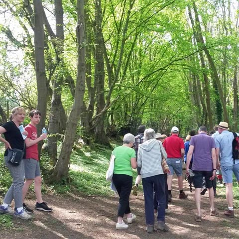 beating the bounds in chesham bois