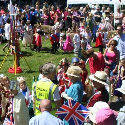 village fete, chesham bois
