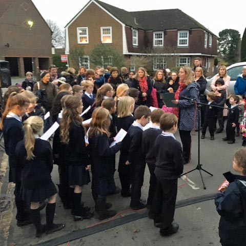 christmas carols, chesham bois