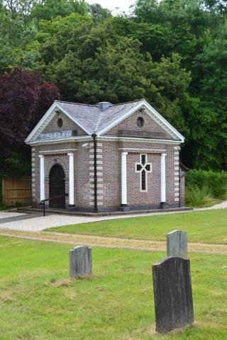 Chesham Bois Burial Ground - the chapel