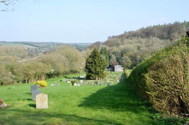 Chesham Bois Burial Ground - formal burial ground