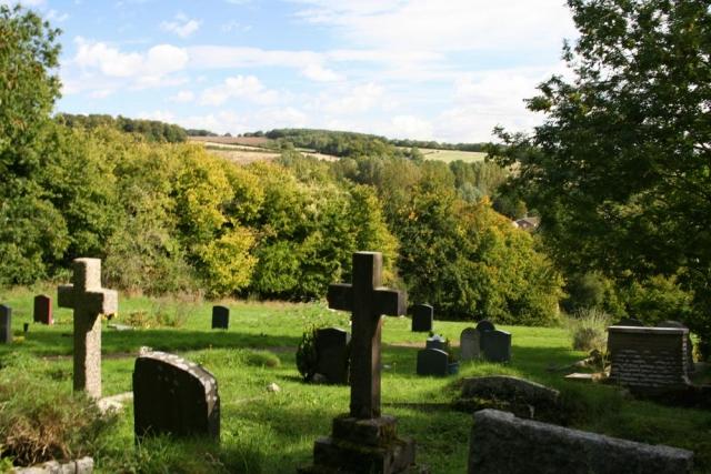 Chesham Bois Burial Ground - formal burial ground memorials