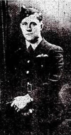 Photo of Pilot Officer John Musgrave copyright Graham of Chesham