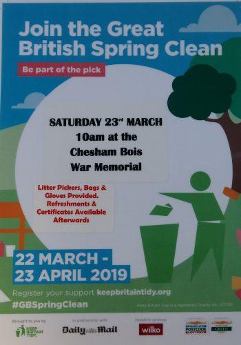 Spring Litter Pick Poster