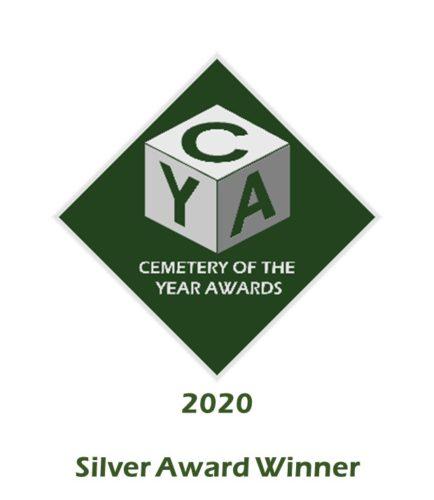 2020 Silver Cemetery of the Year Award Logo